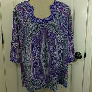 International Concepts Women's Blouse 2X